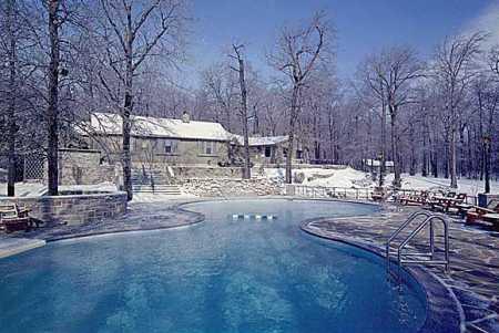 Residencia presidencia de Camp David en Maryland (USA)