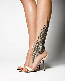tatuaje pierna 1